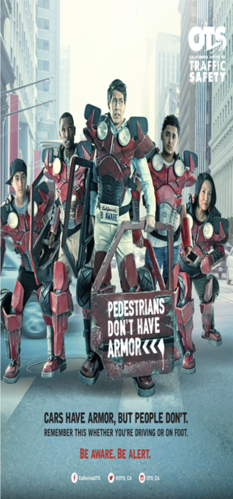 Image of group of people with Car Armor - Pedestrians Don't Have Armor Posters