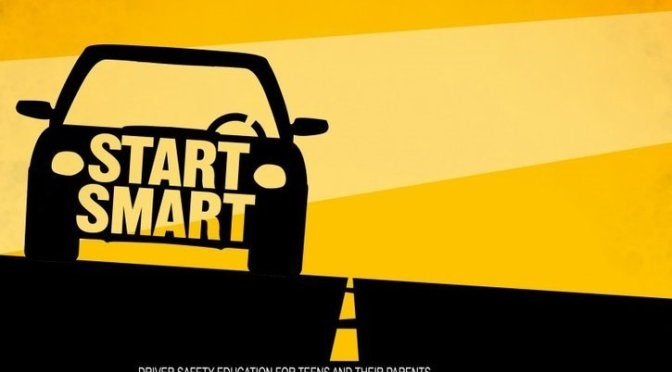 Image of car with start smart on it