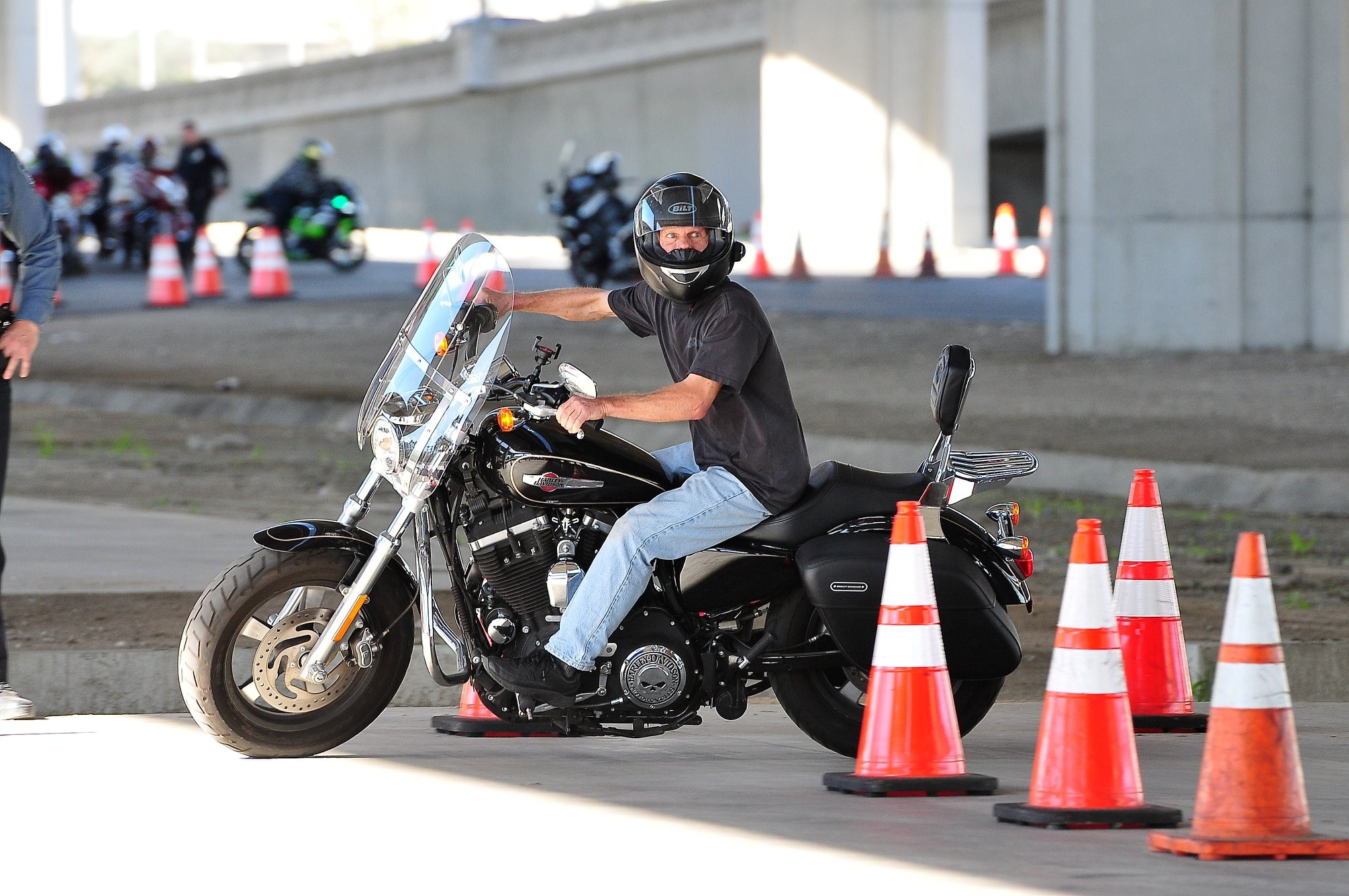 Image of motorcycle rider