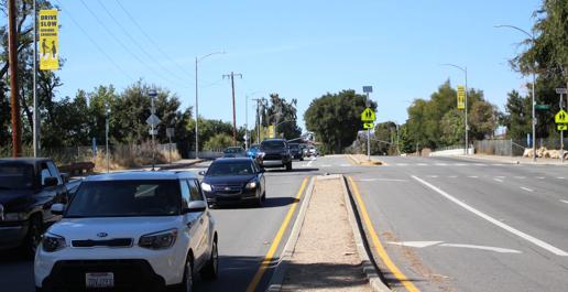 Image of cars at San Jose intersection
